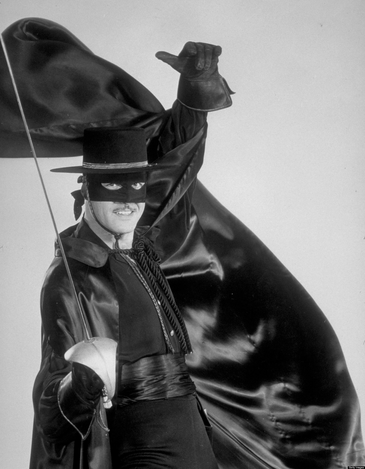 Guy Williams como Zorro