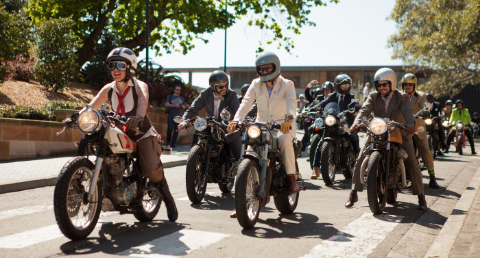 Distinguished Gentleman's Ride de Los Angeles (Foto: Reprodução)