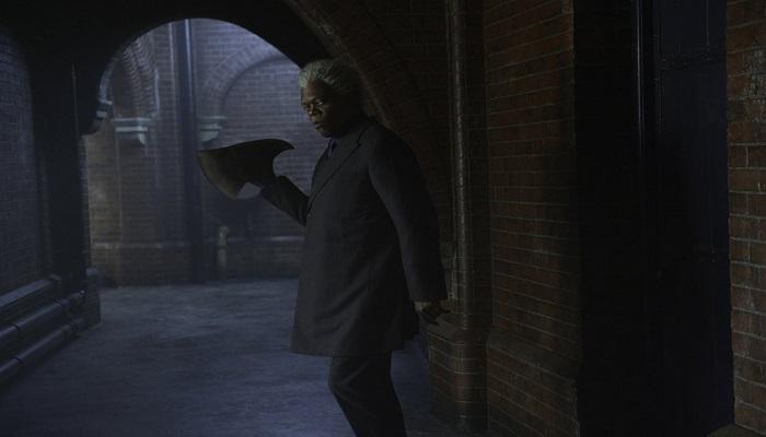 Samuel El Jakson como Mr Narron