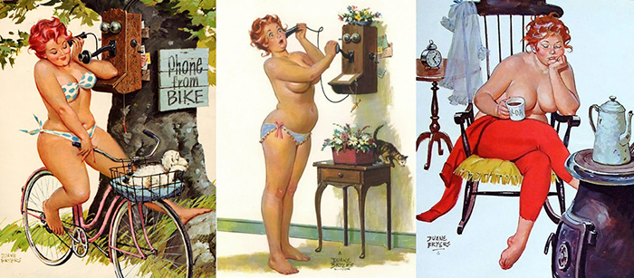 Like pin up duane bryers hilda have found