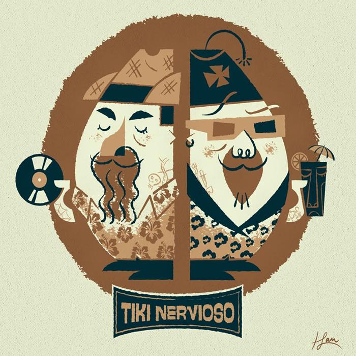 Logo do programa Tiki Nervoso