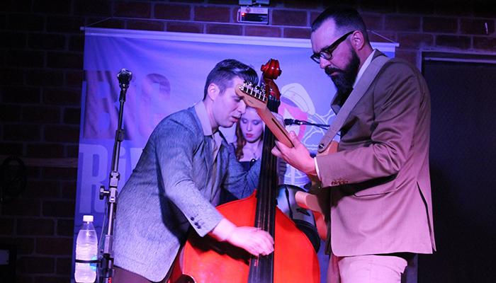 Banda Roberto Terremoto e Os Abalos Sísmicos (Foto: Renata Candido / Reprodução)