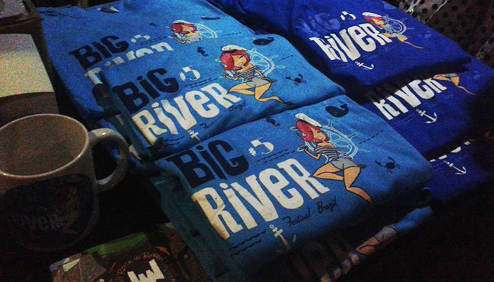 Souvenirs do Big River Festival (Foto: Monique Angeli / Universo Retrô)