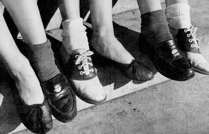 Sapato anos 40