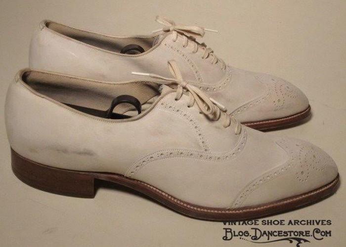 Sapato masculino dos anos 30