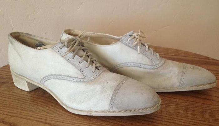 Modelo de sapato Oxford dos anos 20