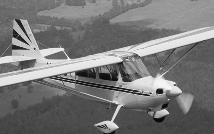 Decathlon é um modelo de aeronave dos anos 1970 (Foto: Reprodução)