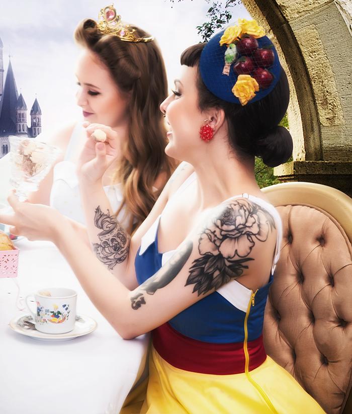 Marca retrô lança coleção inspirada nas princesas Disney ...
