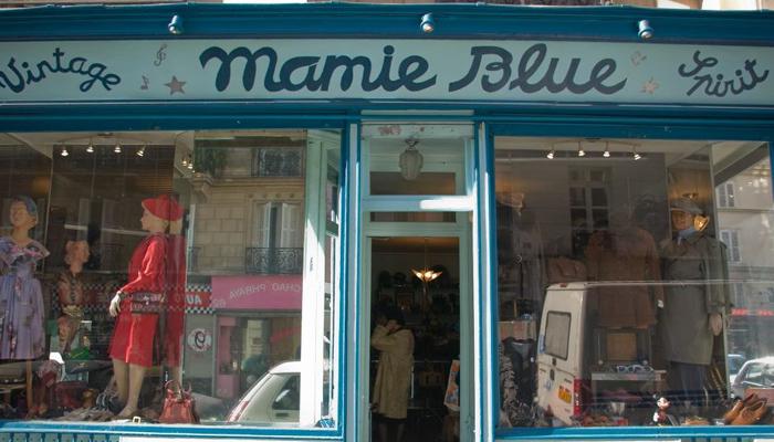 7a1d7b8926d Fachada do brechó  Mamie Blue  (Foto  Divulgação)