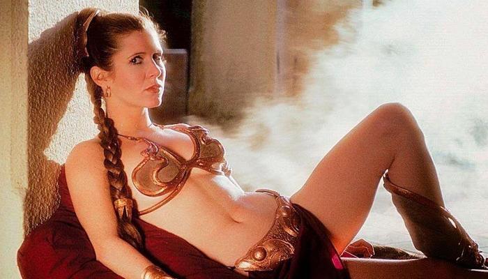 Princesa Leia de Biquini