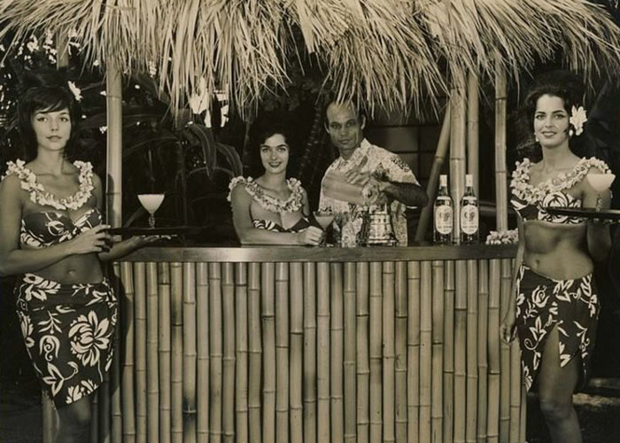 Vintage Tiki Bar (Foto: Reprodução)
