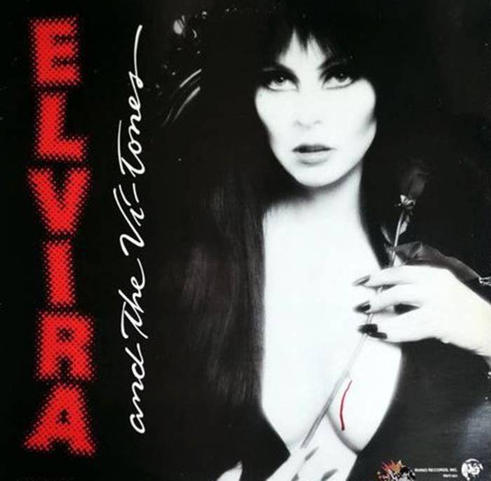 Capa do primeiro disco de Elvira. (Foto: Reprodução)