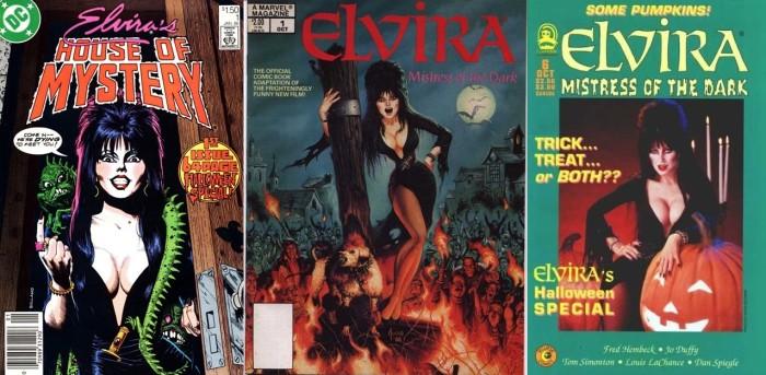 Capas de House of Mystery (DC), da quadrinização oficial de seu filme (Marvel) e da sua série pela Claypool. (Foto: Reprodução)