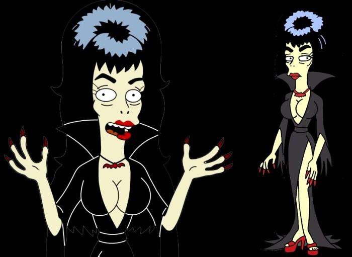 Personagem Booberella, de Os Simpsons. (Foto: Reprodução)