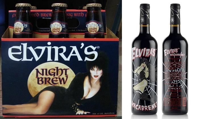 A cerveja Night Brew e o vinho Macabrenet. (Foto: Reprodução)