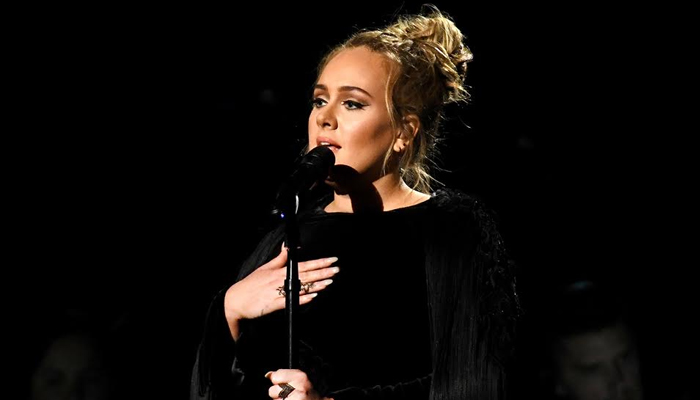 Adele no Grammy 59º