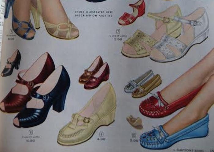 Sapato anos 50