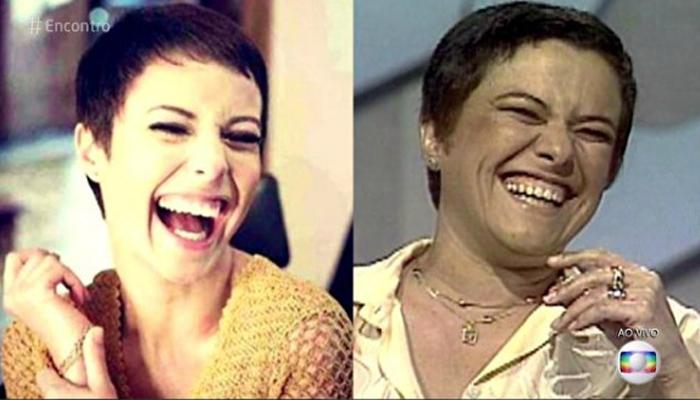 Comparação entre Andreia Horta e Elis Regina