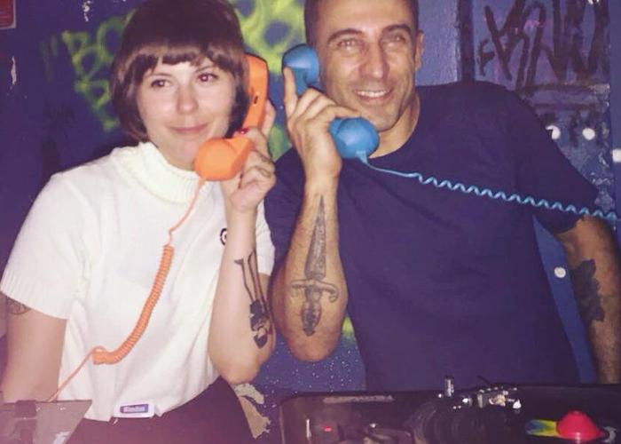 DJs Cintia Sixtie e Kalota