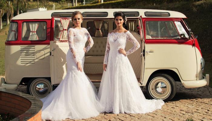Kombi para casamento vintage