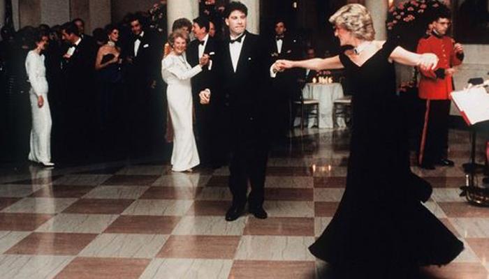 Princesa Diana e John Travolta