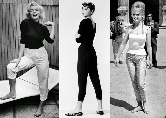 Marilyn Monre, Audrey Hepburn e Brigitte Bardot (Fotos: Reprodução)