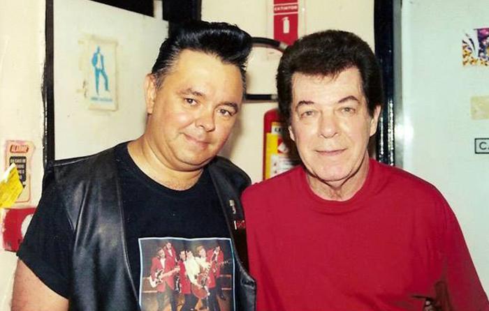 Ivan Rocker e Tony Campelo (Foto: Arquivo Pessoal)