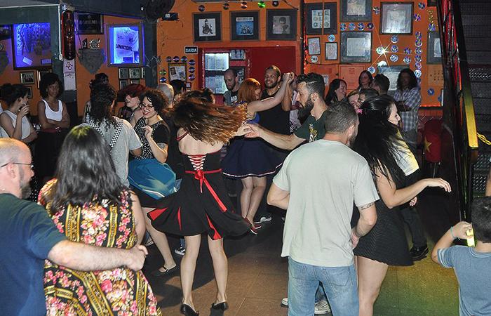 Pista de dança da Pin-Ups Party (Foto: Diorandi Nagao)