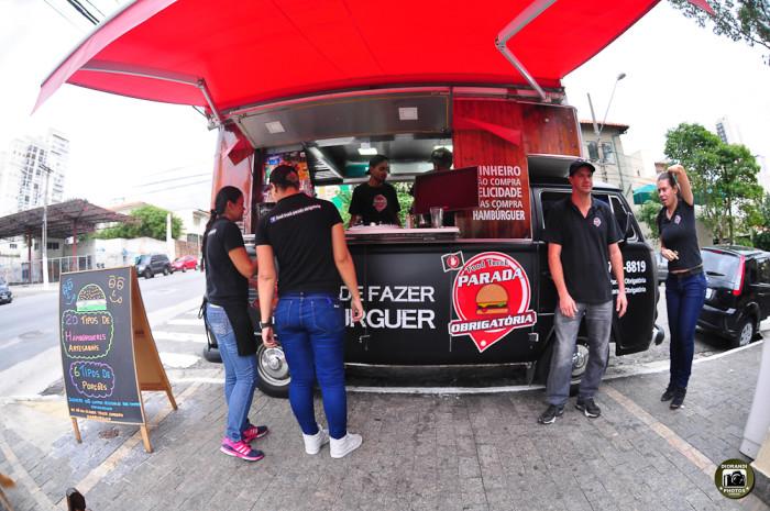 Food Truck de hambúrguer (Foto: Diorandi Nagao)