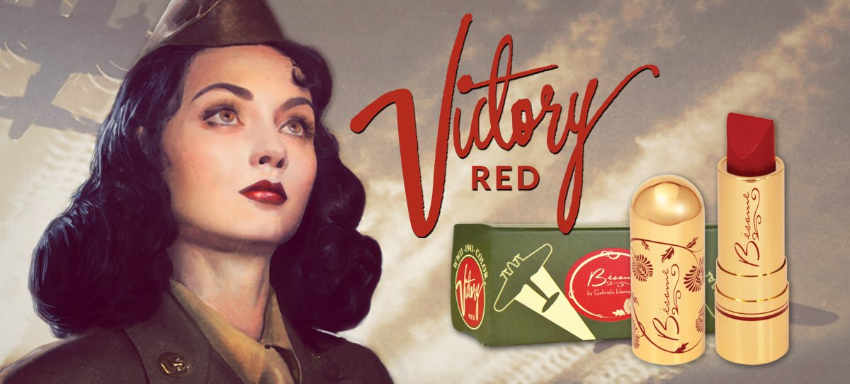 1941 Victory Red Classic Color Lipstick