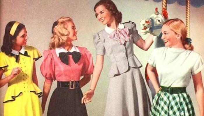 Blusas anos 1940