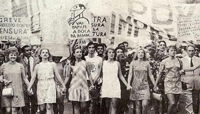 Jovens atrizes brasileiras em 1968