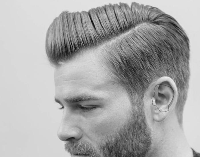 Penteado Vintage Masculino