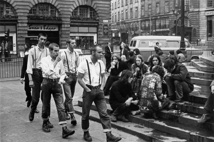 Skinheads britânicos (Foto: Reprodução)