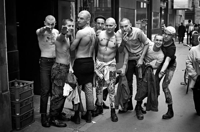 Boneheads em Chelsea, Inglaterra, 1982 (Foto: Reprodução / Derek Ridgers)