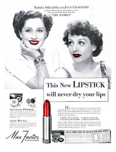 Norma Shearer e Joan Crawford