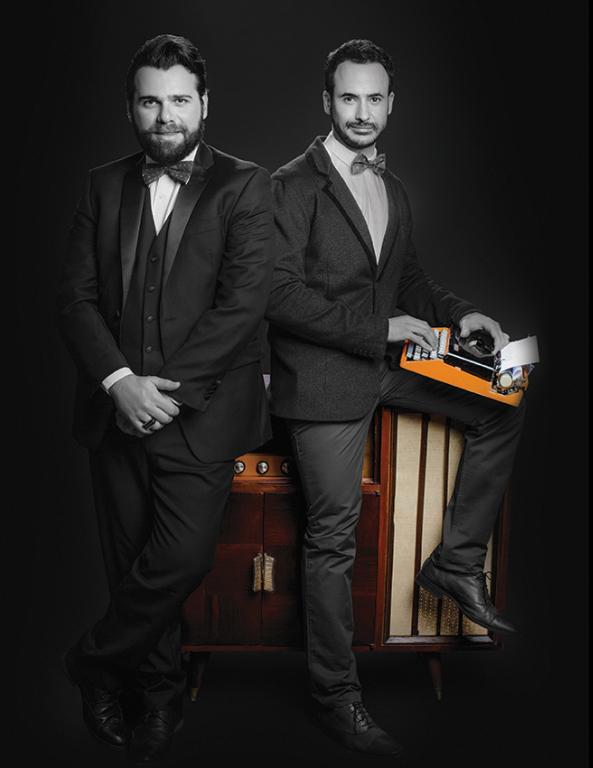 Frederico Reder e Marcos Nauer