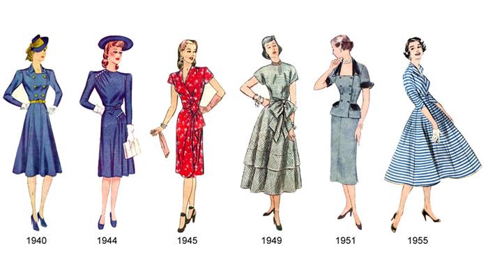Silhueta anos 50