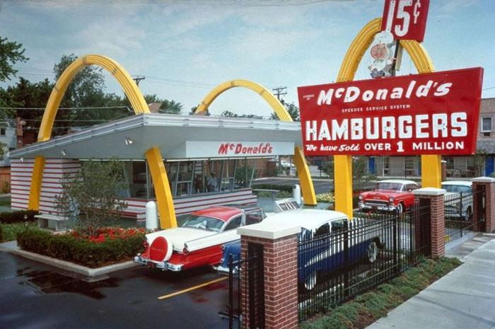 McDonalds nos anos 50