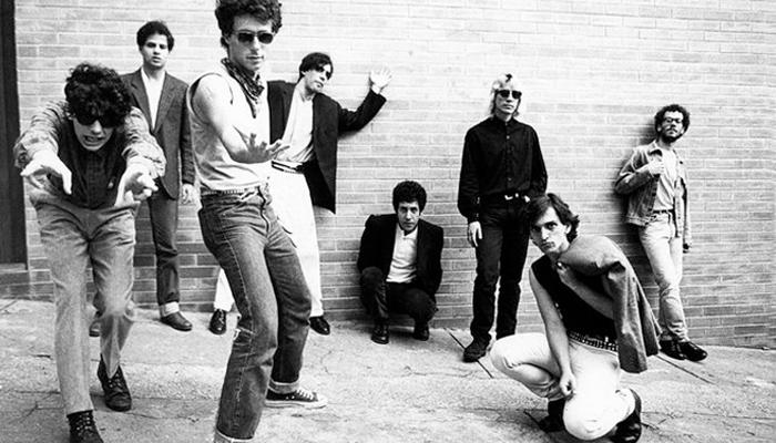 Titãs em foto de 1986