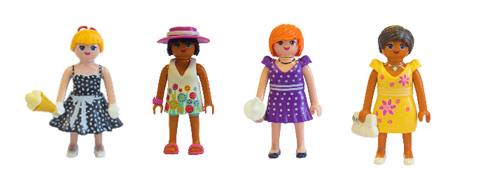 Bonequinhas Playmobil Fashion Girls