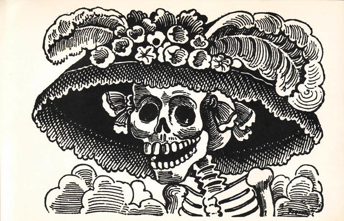 Catrina de José Guadalupe Posada