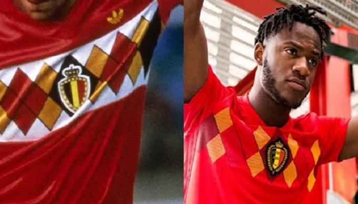Camisa da seleção belga