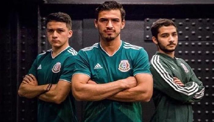 Camisa da seleção mexicana para a Copa de 2018 (Foto: Divulgação/Adidas)