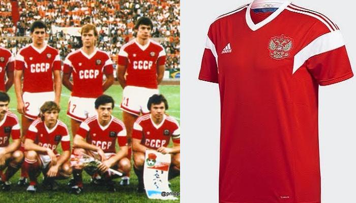 Camisas da Rússia e União Soviética