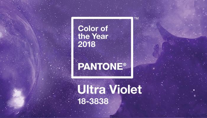 Ultra Violet, a cor de 2018