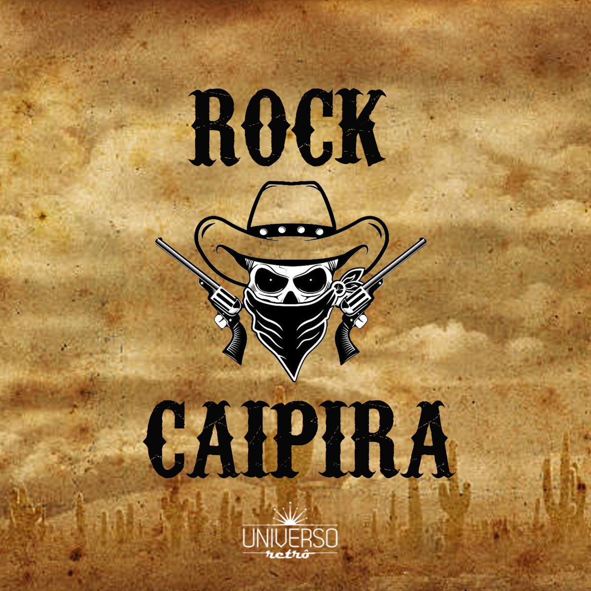 Capa da Playlist 'Rock Caipira'