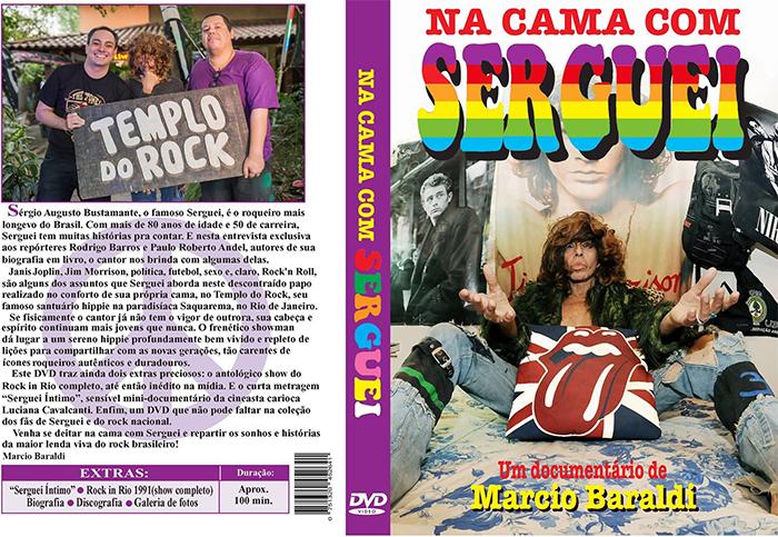 Capa DVD Serguei