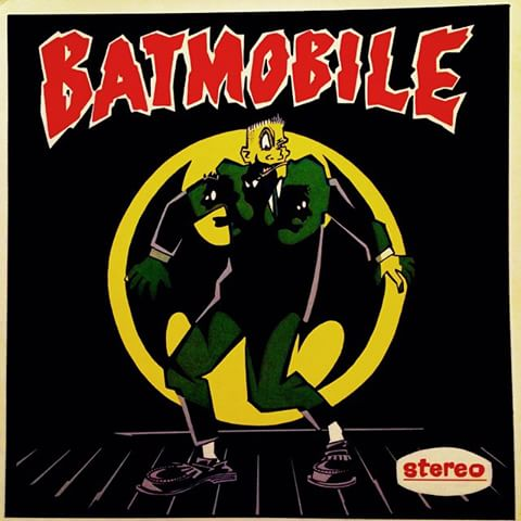 Batmobile - EP Stereo (1985)