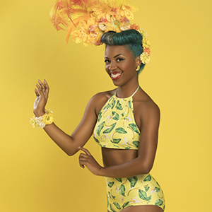 Pin-Up Miss Black Divine